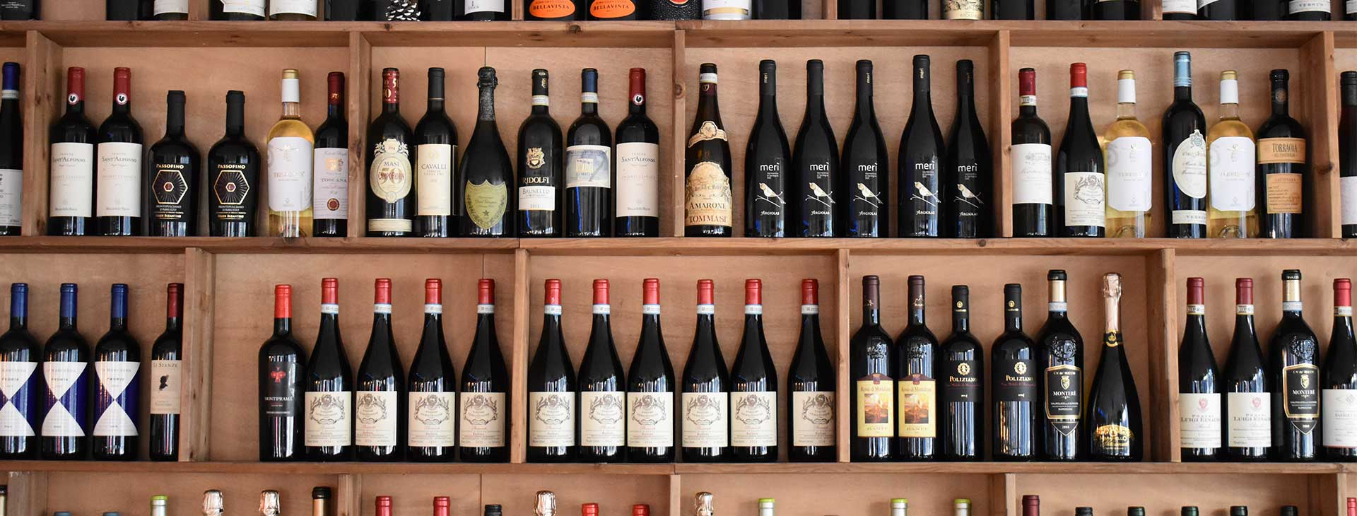 Enjoy a selection of best bottles